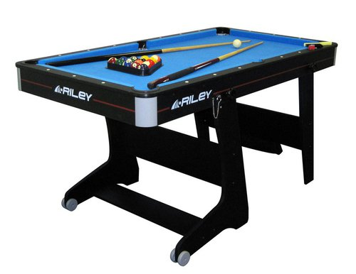 Riley Folding Domestic Pool Table (5ft)