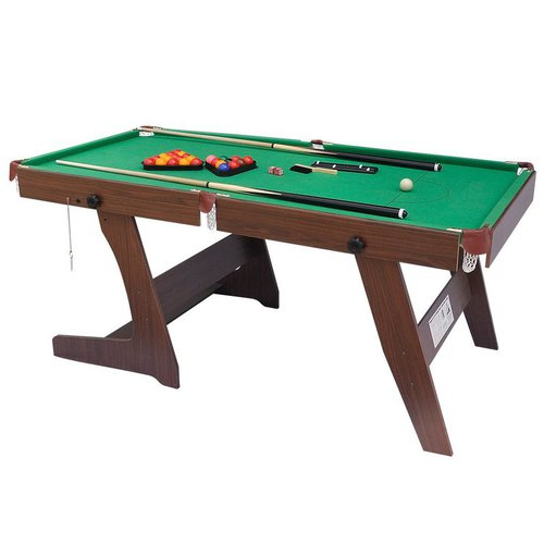 HLC Folding Snooker/Pool Table (6ft)
