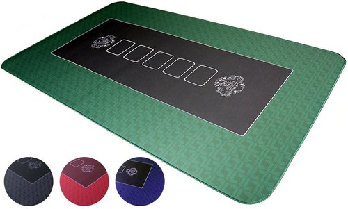 Bullets Small Poker Table Top Mat
