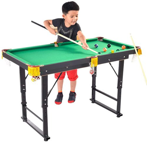 Foldable and Liftable Kids Pool Table