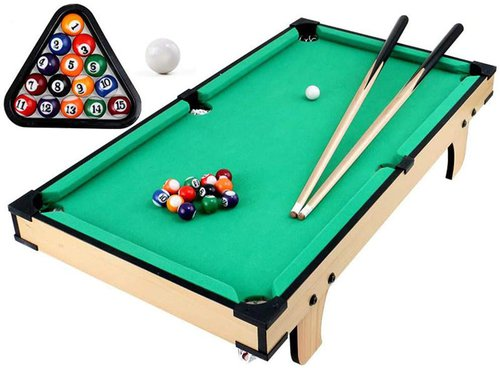 "JFJL 31"" Indoor Mini Tabletop Pool Table"