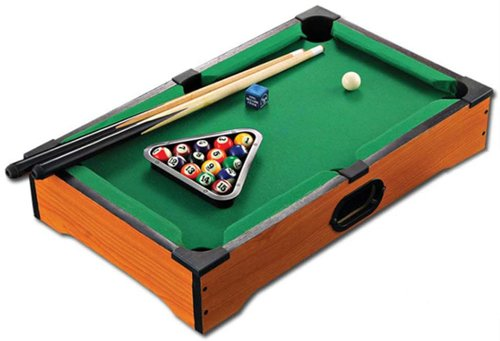 Kids Mini Desktop Pool Table Set