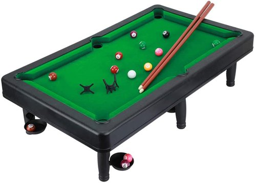 Mini Pool Table and Tabletop Billiards Game