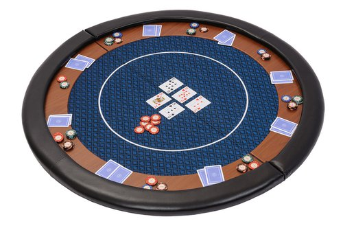 Premium Compact Foldable Round Poker Table Top