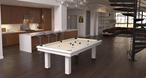 Toulet Roundy Outdoor Pool Table 6