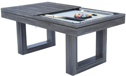 The Amalfi II Pool Dining Table & Table Tennis Top (6ft or 7ft)