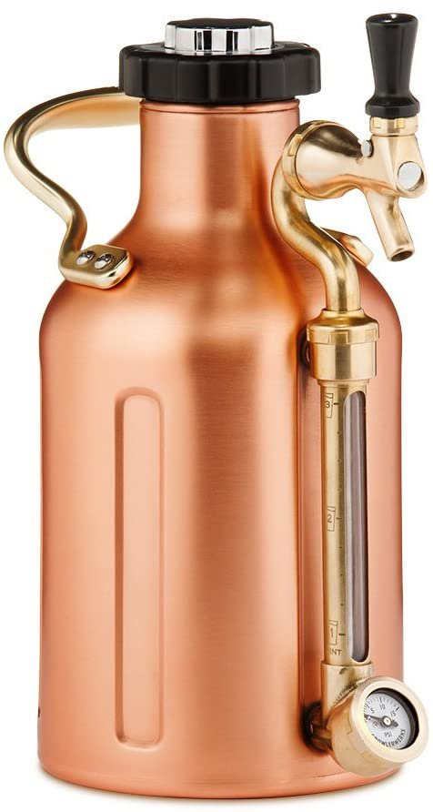uKeg 64 Carbonated Growler for Craft Beer in Copper.jpg