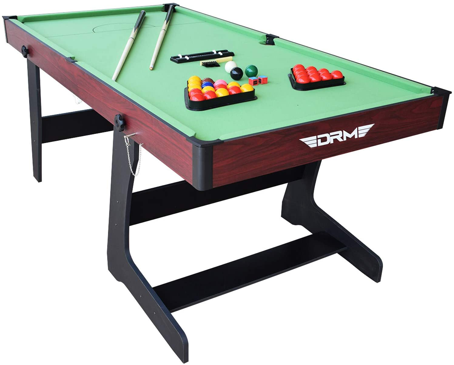 Picture of: Top 8 Foldable Pool Tables What To Look For In A Folding Pool Table Mancaves Hq